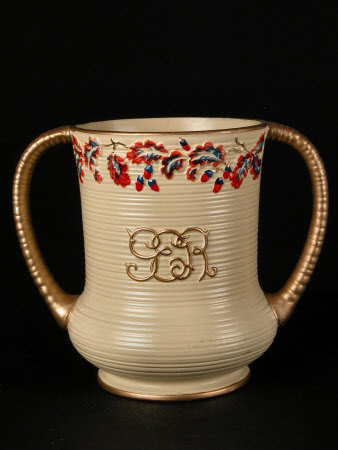 Double-handled urn commemorating the coronation in 1937 of King George VI (1895-1952) and Queen ...