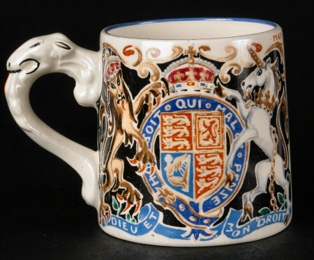 Mug to commemorate the coronation of King Edward VIII, later Duke of Windsor (1894-1972)