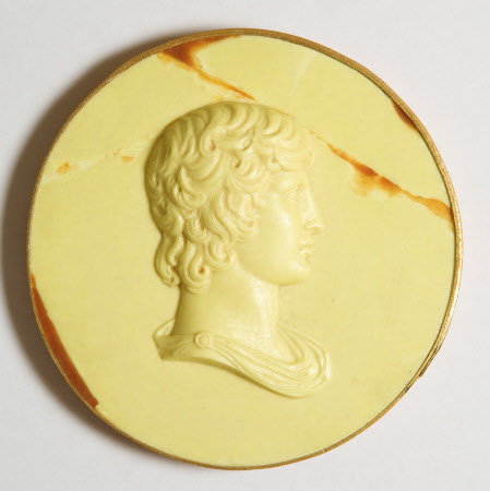 Wax medallion