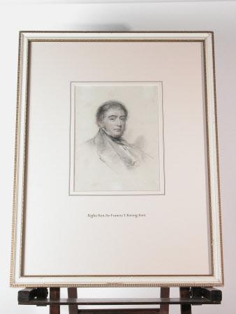 Sir Francis Thornhill Baring, 1st Baron Northbrook, PC, (1796-1866)