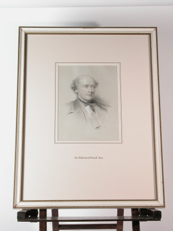 Sir Edmund Walker Head, 8th Bt, DCL, LLD (1805-1868)