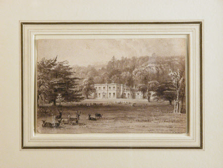 Killerton House, Devon, from the park