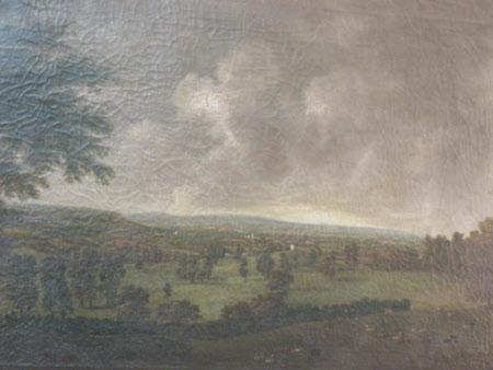 Supposed View West from Killerton, Devon