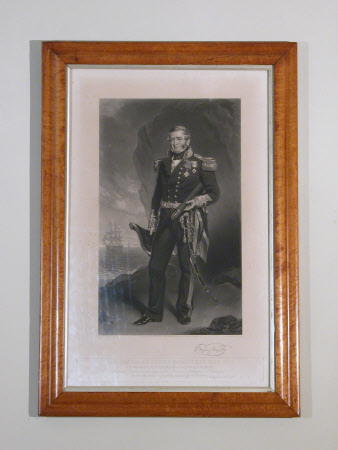 Sir Fairfax Moresby (1787-1877) Admiral of the Fleet (after Sir Francis Grant)