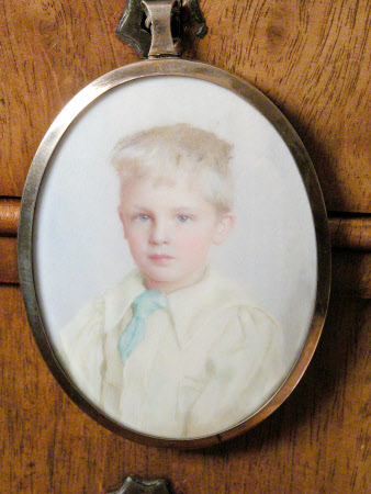 Sir John Heathcoat-Amory, 3rd Bt (1894-1972) as a Child