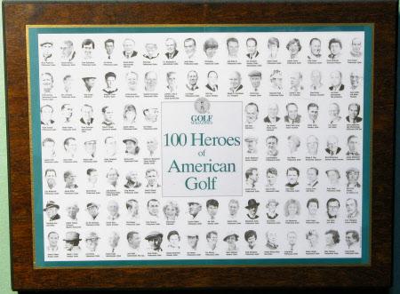 100 Heroes of American Golf: 1988