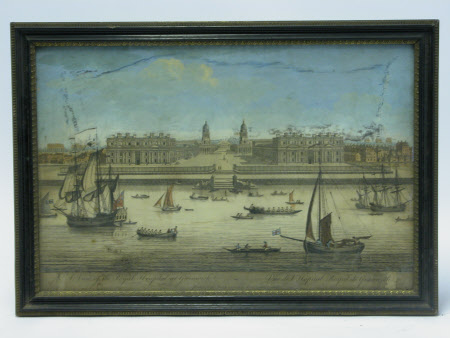 A view of the Royal Hospital at Greenwich, London