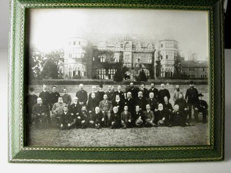 The male staff, Knightshayes Court, Devon