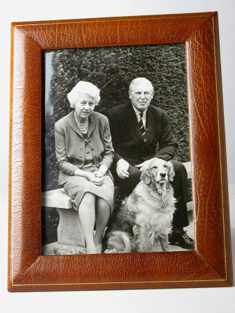 Sir John Heathcoat-Amory, 3rd Bt (1894-1972) and Joyce Newton Wethered, Lady Heathcoat Amory (1901 ...