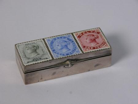 Stamp box
