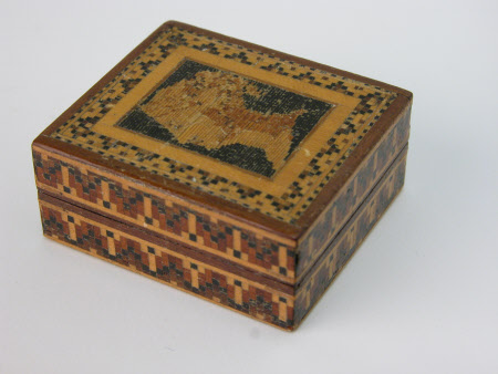 Stamp box with head of Queen Victoria (1819-1901)