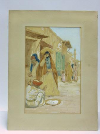 The Bazaar in Baghdad