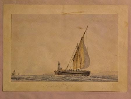 A Dhow at Sea