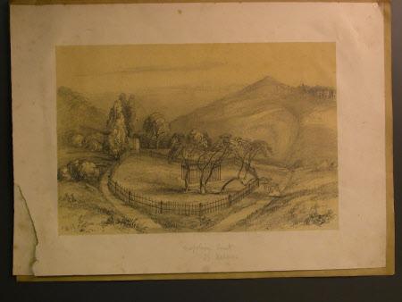Napoleon's tomb. St Helena