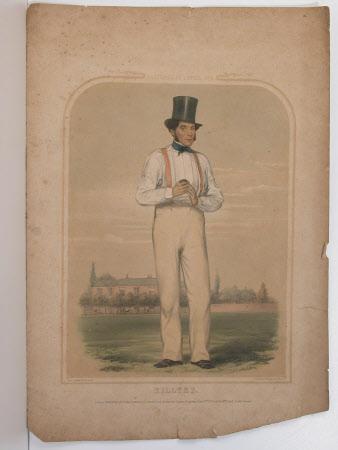 William Richard Hillyer (1813–1861) at Lords Cricket Ground