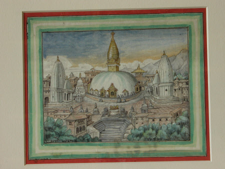 Buddhist Temple of Sembo Nath, Katmandu