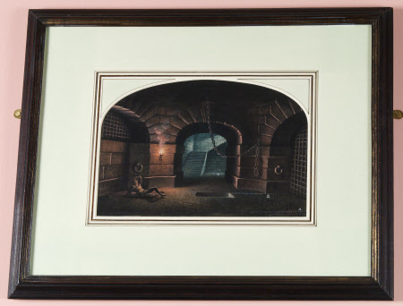 Stage Designs for 'Fidelio by Beethoven at Covent Garden, 1934: The Dungeon.