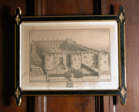 The North East Prospect of Chirk Castle (after Thomas Badeslade)