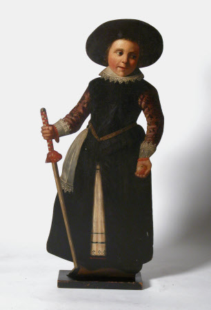 Standing Boy with a Hobby-horse Stick (dummy board)
