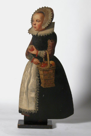 Standing Girl with a Basket of Apples (dummy board)