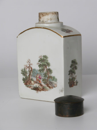 Tea caddy lid