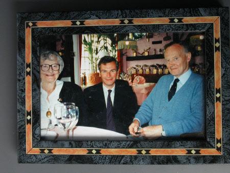 Lady Elizabeth Brunner, Hugo Brunner and Tim Thornton-James