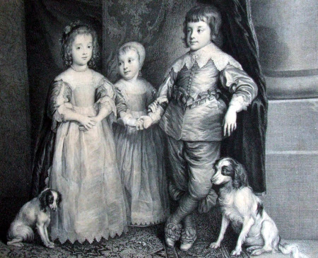 The three Eldest Children of King Charles I (after Sir Anthony Van Dyck)