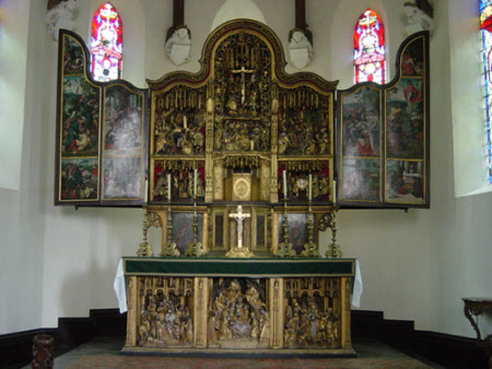 The Oxburgh Retable