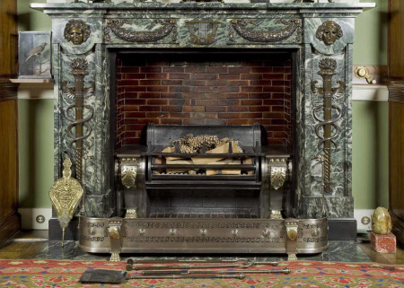 Chimneypiece, Library, Tatton Park