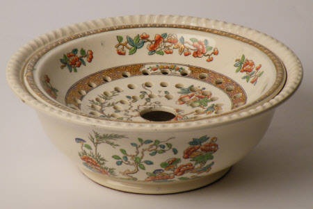 Washstand sponge bowl and lid