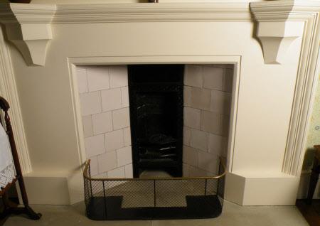 Chimneypiece, North Spare Dressing Room, Standen