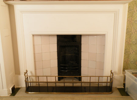 Chimneypiece, Larkspur Bedroom, Standen
