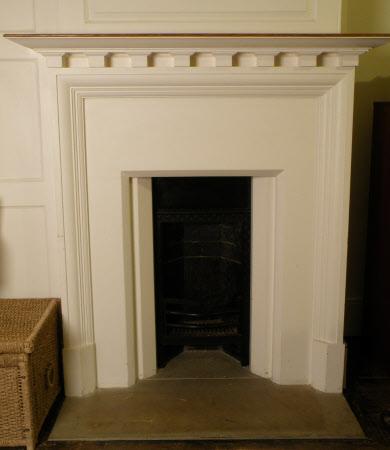 Chimneypiece, Croxley Bedroom, Standen