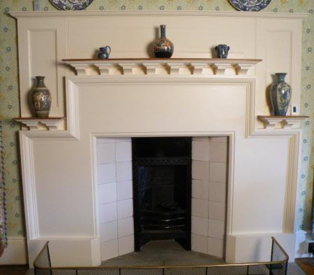Chimneypiece, North Spare Bedroom, Standen