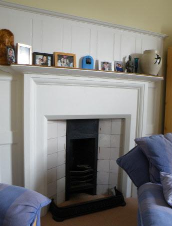 Chimneypiece, House Steward's Flat, Standen