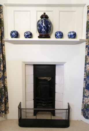 Chimneypiece, Holiday Flat, Standen