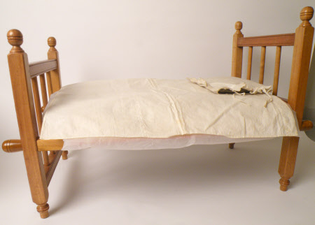 Doll's bed pillow