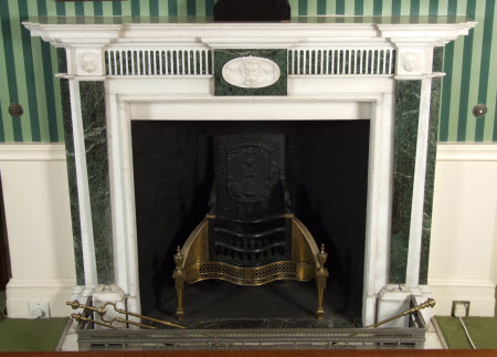 Chimneypiece, Smoking Room, Polesden Lacey