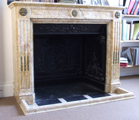 Chimneypiece, Staff Accommodation, Polesden Lacey