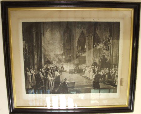 The Jubilee Ceremony in Westminster Abbey on June 21st, 1887.