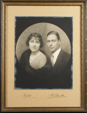 Duke of York, later King George VI (1895-1952) and the Duchess of York later Queen Elizabeth ...