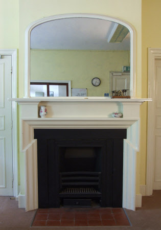 Chimneypiece, Reception Office, Polesden Lacey