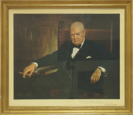 Sir Winston Leonard Spencer-Churchill, KG, DL, OM, CH, PC, MP (1874-1965)