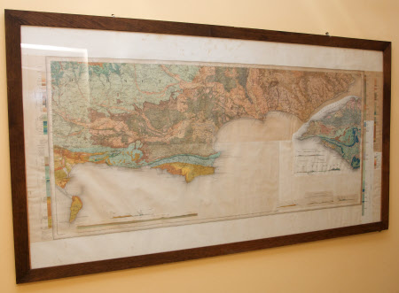 Geological map of Southern Dorset and Western Isle of Wight