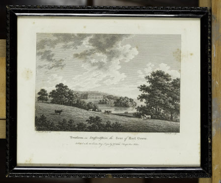 Trentham, Staffordshire: the seat of Earl Gower