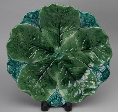 Leaf dish ornament