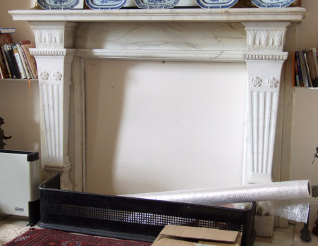 Chimneypiece, Chippendale Bedroom, Polesden Lacey