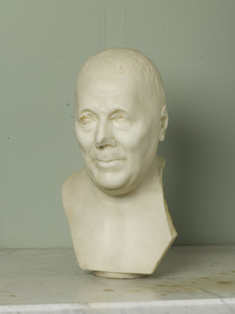 Bust of a gentleman, possibly Alexander Stewart (1700–1781) of Ballylawn and Mount Stewart
