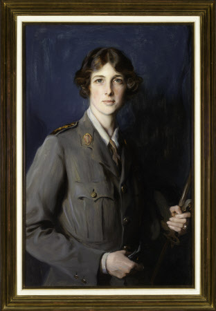Lady Edith Helen Chaplin, Marchioness of Londonderry, DBE (1878-1959) in Uniform of the Women's ...
