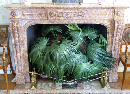 Chimneypiece, Tea Room, Polesden Lacey